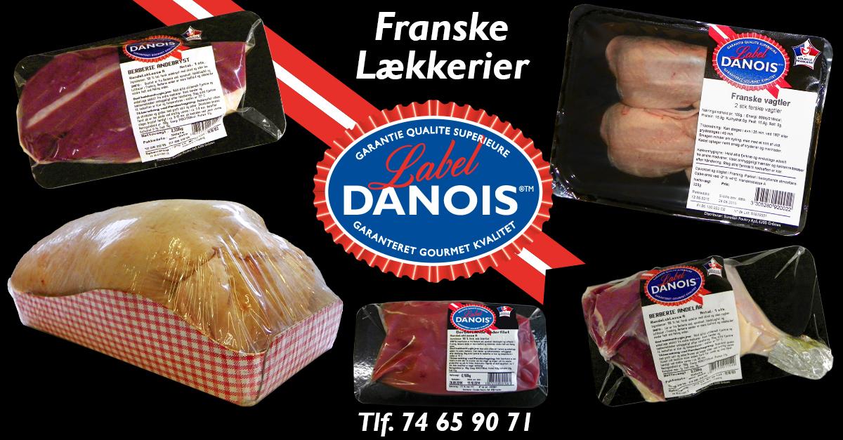 Label danois graasten fjerkrae